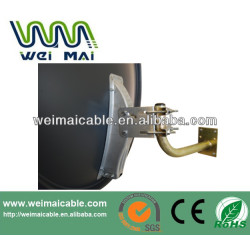 Montaje en pared C y Ku banda de la antena parabólica WMV021410