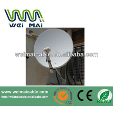 Montaje en pared C y Ku banda de la antena parabólica WMV021418