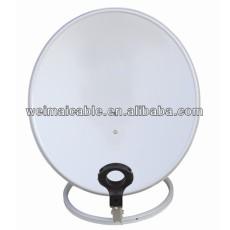 Montaje en pared C y Ku banda de la antena parabólica WMV021420