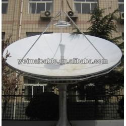 Montaje en pared C y Ku banda de la antena parabólica WMV021422