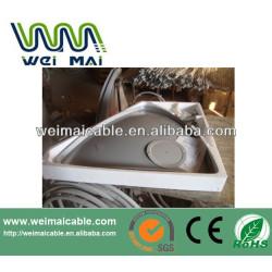 C y Ku banda de la antena parabólica sudamericana mercado WMV030612