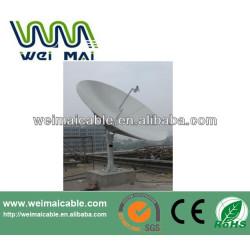 Montaje en poste C y Ku banda de la antena parabólica WMV021472