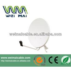Montaje en poste C y Ku banda de la antena parabólica WMV021459