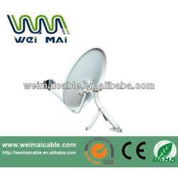 Montaje en poste C y Ku banda de la antena parabólica WMV021460