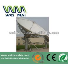 Montaje en poste C y Ku banda de la antena parabólica WMV021473