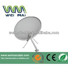 Montaje en poste C y Ku banda de la antena parabólica WMV021474