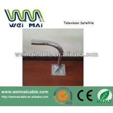 C y Ku banda de televisión satélite plato WMV030641