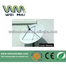 C y Ku banda de televisión Satelital plato WMV030682