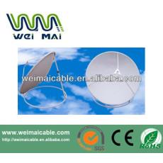 C y Ku banda de televisión Satelital plato WMV030686