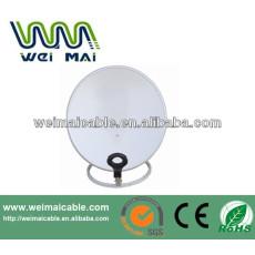 C y Ku banda de televisión Satelital plato WMV030689