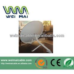 Montaje en poste C y Ku banda de la antena parabólica WMV021462
