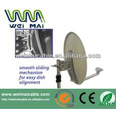Montaje en poste C y Ku banda de la antena parabólica WMV021463
