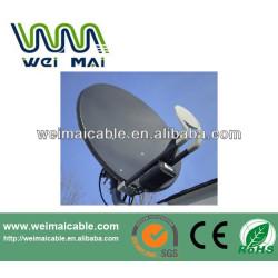 Montaje en poste C y Ku banda de la antena parabólica WMV021465