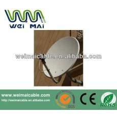 Montaje en poste C y Ku banda de la antena parabólica WMV021467