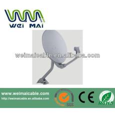 Montaje en poste C y Ku banda de la antena parabólica WMV021468