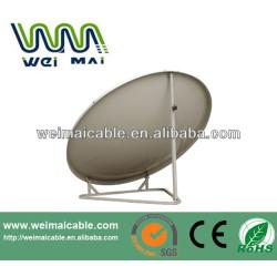 Montaje en poste C y Ku banda de la antena parabólica WMV021469