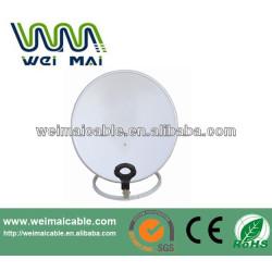 Montaje en poste C y Ku banda de la antena parabólica WMV021470
