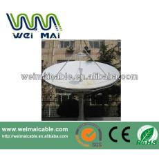 Montaje en poste C y Ku banda de la antena parabólica WMV021471