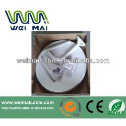 C y Ku banda de televisión satélite plato WMV030654