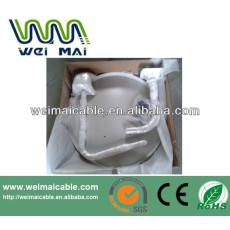 C y Ku banda de televisión satélite plato WMV030655