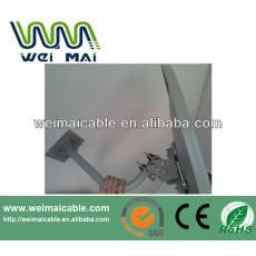 C y Ku banda de televisión satélite plato WMV030657