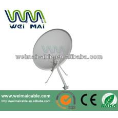 C y Ku banda de televisión Satelital plato WMV030675