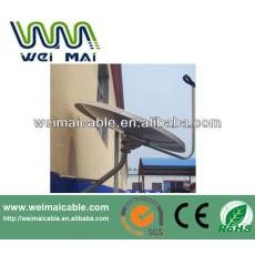 C y Ku banda de televisión Satelital plato WMV030690