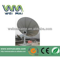 C y Ku banda de televisión Satelital plato WMV030692