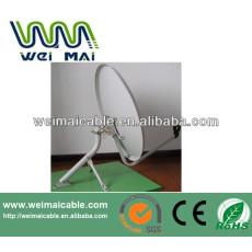 C y Ku banda de televisión Satelital plato WMV030694