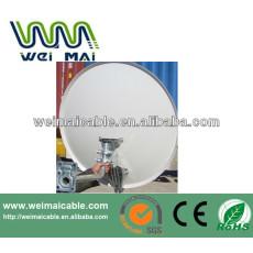 C y Ku banda de televisión Satelital plato WMV030695