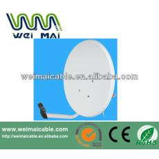 C y Ku banda de televisión Satelital plato WMV030696