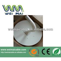 C y Ku banda de televisión satélite plato WMV030646