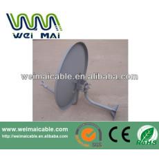 C y Ku banda de televisión satélite plato WMV030653