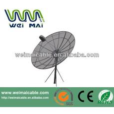 C y Ku banda de la antena parabólica africana mercado WMV032101