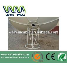 C y Ku banda de televisión Satelital plato WMV030668