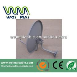 C y Ku banda de televisión Satelital plato WMV030672