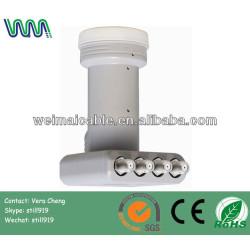 Universal Quad banda Ku LNB banda C LNB para antena parabólica WMV040338 Ku