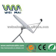 C y Ku Band satélite de la TV de la antena Dubai mercado WMV032121 TV de la antena de plato