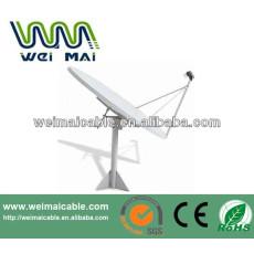 C y Ku Band satélite de la TV de la antena Dubai mercado WMV032124 TV de la antena de plato