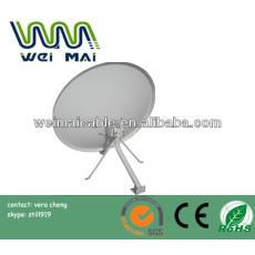 C y Ku banda de la antena parabólica españa mercado ( WMV032818 )