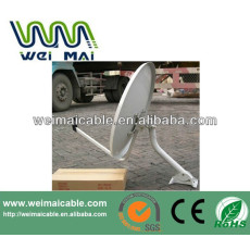 C y Ku banda de la antena parabólica africana mercado WMV032106