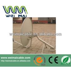 C y Ku banda de la antena parabólica africana mercado WMV032107