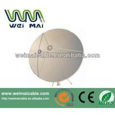 C y Ku Band satélite de la TV de la antena Dubai mercado WMV032127 TV de la antena de plato