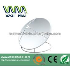 C y Ku Band satélite de la TV de la antena Dubai mercado WMV032126 TV de la antena de plato