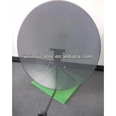 C y Ku banda de la antena parabólica españa mercado ( WMV032825 )