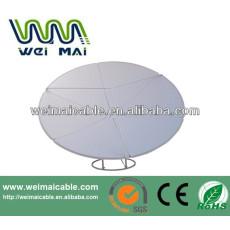 C y Ku Band satélite de la TV de la antena Dubai mercado WMV032112 TV de la antena de plato