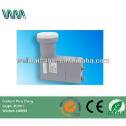 Universal de doble banda Ku LNB banda C LNB para antena parabólica WMV040322 Ku