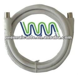 Tv Cable con F conector WM0465M coaxial Cable