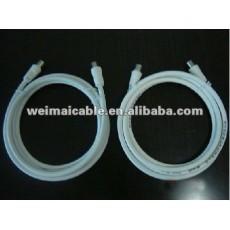تلفزيون الكابل مع موصل f wm0165m الكابلات المحورية