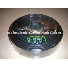تلفزيون الكابل مع موصل f wm0164m الكابلات المحورية